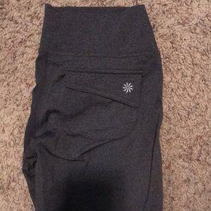 Athleta yoga pants (grey)